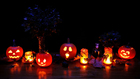 Foto iluminación de Halloween