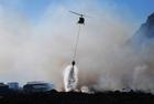 Foto lucha contra incendios