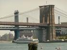 Foto New York - Brooklyn Bridge and Manhattan Bridge