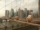 Foto New York - Brooklyn Bridge and Manhattan
