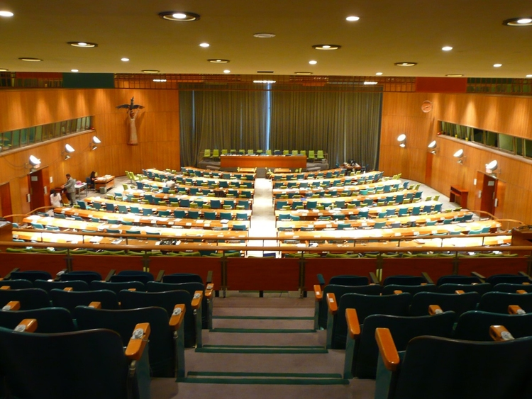 Foto New York - United Nations building