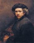 Foto pintura de Rembrandt