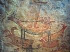 Foto pintura rupestre