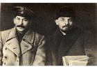 Foto Stalin y Lenin