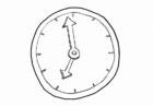 Dibujo para colorear Tiempo