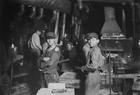 Foto Trabajo infantil - fábrica de vidrio 1908