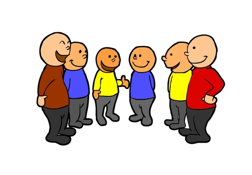 Imagen Hablar en grupo
