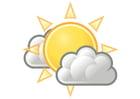 Imagen 01 - nuboso con sol