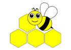Imagen abeja - parte delantea