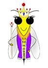 Imagen abeja reina