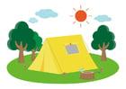 Imagen acampar