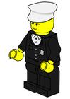 Imagen agente de policía