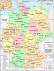 Imagen Alemania - mapa político de 2007