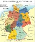 Imagen Alemania - mapa político RFA 2007