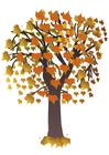 Imagen árbol en otoño