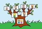 Imagen árbol geneal