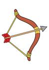 Imagen arco y flecha