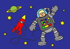 Imagen astronauta