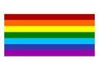 Imagen bandera del arcoíris