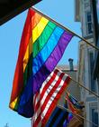 Foto bandera del arcoíris