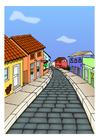 Imagen calle de pueblo