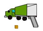 Imagen camión de mudanzas vacío