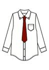 Imagen camisa con corbata