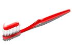 Imagen cepillo de dientes con pasta de dientes