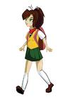 Imagen chica de manga