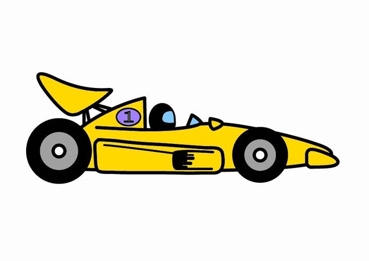 Descargar 1024x1024 Coches Vehículos Automóviles: Imagen Coche De Carreras De F1