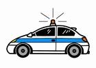 Imagen coche de policía