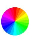 Imagen colores del arcoíris