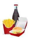 Imagen comida no saludable