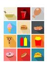 Imagen comida rápida