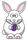 Imagen conejo de pascua