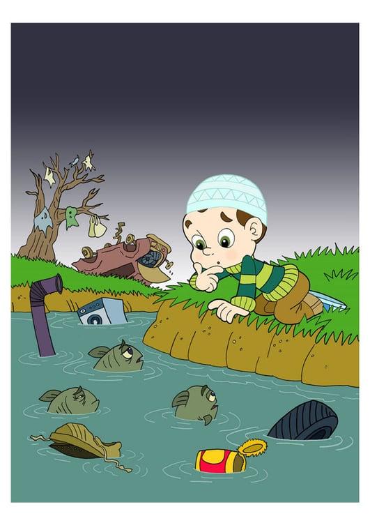 Agua Imigen Animadas Contaminacion Dibujos Wwwincreiblefotoscom