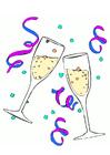 Imagen copas de champán