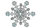 Imagen cristal de hielo
