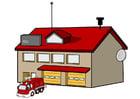 Imagen cuartel de bomberos