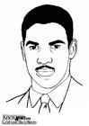 Dibujo para colorear Denzel Washington