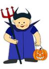 Imagen disfraz de Halloween