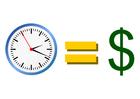 Imagen el tiempo es dinero