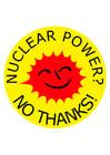 Imagen energía nuclear no gracias