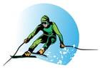 Imagen esquiar