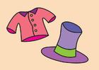 Imagen esquina de ropa elegante