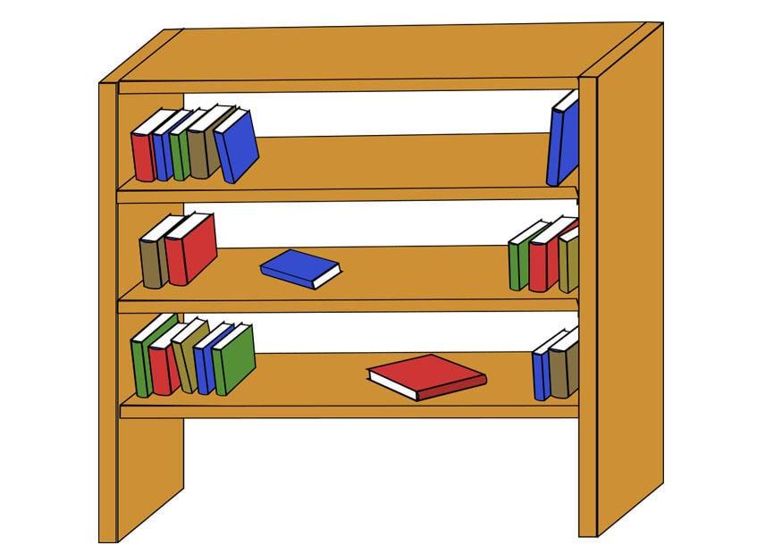 Imagen estanter a img 22806 - Dibujos de estanterias ...