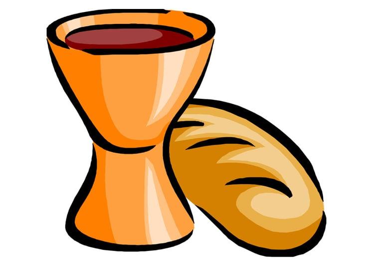 Resultado de imagen de dibujos de la eucaristía