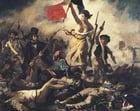 Imagen Eugene Delacroix - La libertad guiando al pueblo.