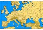 Imagen Europa con alturas y ríos