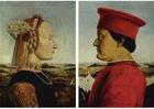 Imagen Féderico da Montefeltro y su esposa Battista Sforza